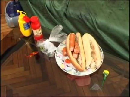 Lambuzadas de hot dog