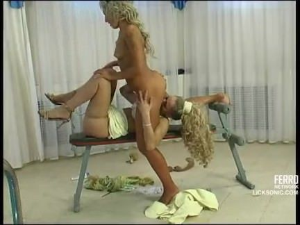 Namoradas no sexo ardente