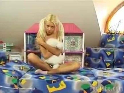 Ninfetinha de pijama