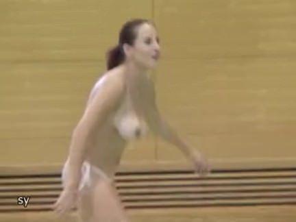 Pelada na ginastica